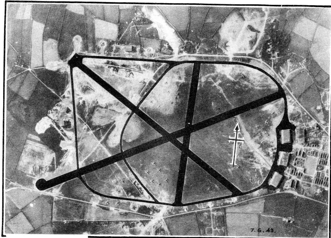 Layout Of A Standard Raf Ww2 Airfield
