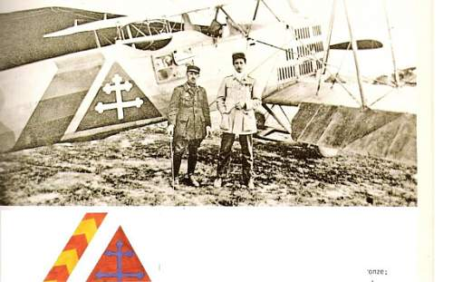 Lt. Howard Carl Eales Grouping, Pilot, Observer - WW I, French Escadrille 120 & US 91st. Aero Squadron