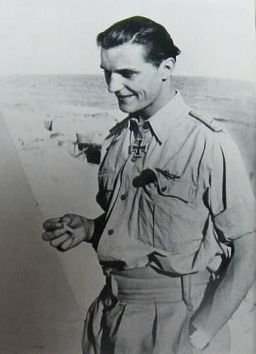 The Unrivalled Virtuoso of fighter pilots: Hans- Joachim Marseille