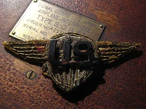 Post Your ORIGINAL WWI Allied Forces Metal & Bullion Wings/Badges!
