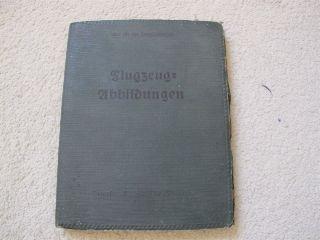 Flugzeug Handbuch (WW1 German Identification Handbook of Planes)