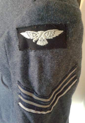 OPINIONS on a RAF Sgt Navigator Jacket