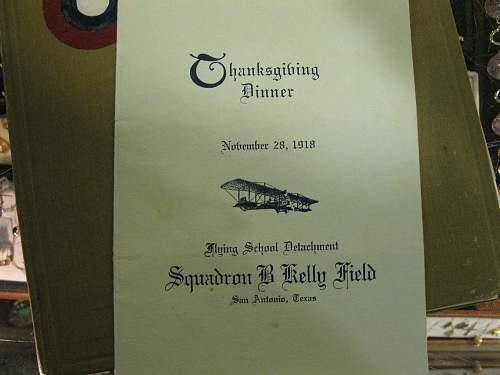 Kelly Field in the Great War book