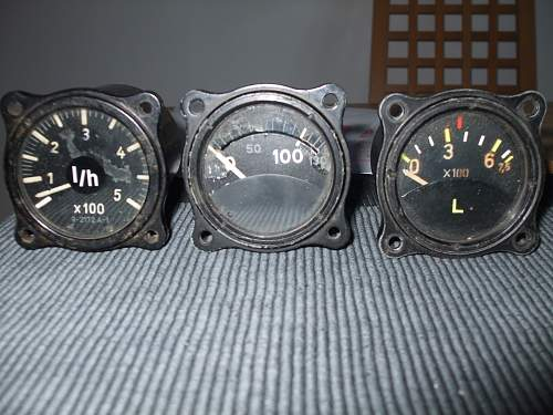 German Aircraft dials: from which aircraft ?