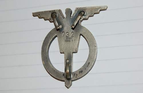 Czech aircrew badge