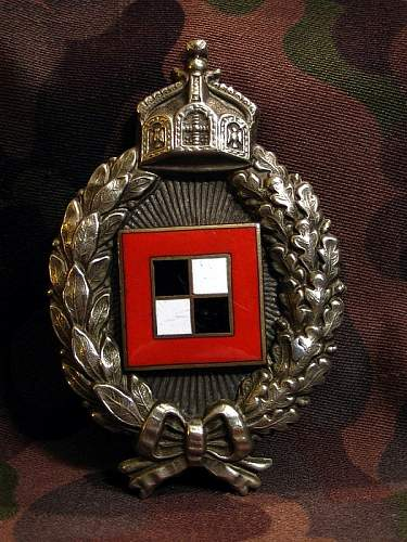 Post Your ORIGINAL WWI Opposing Forces Flight Badges!