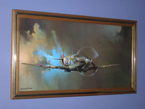 Aviation art prints and photo collector