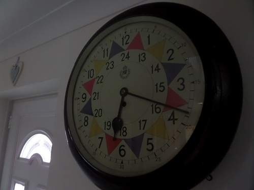 RAF sector clock