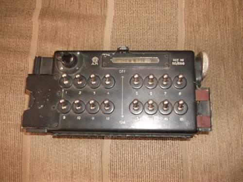 Lancaster Bomb Arming Switch Panel