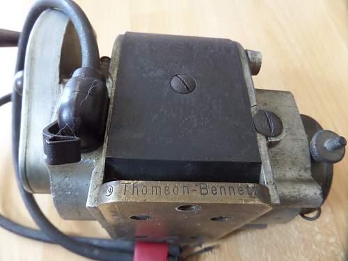 ww1 ? British Aircraft magneto