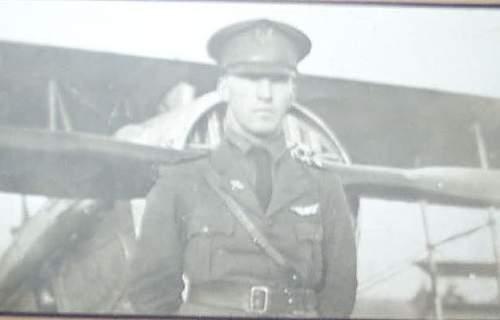 Lt Byron Bilderback 27th Aero Squadron AEF