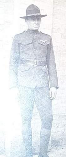 Lt. Earl Forsyth Foggia Italy Caproni Pilot