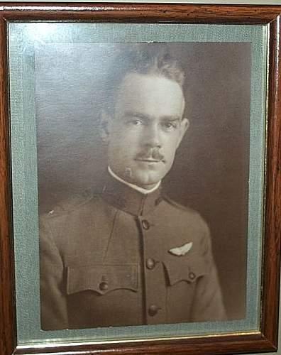 Lt Howard Whitnay Wing, Air Service 1918