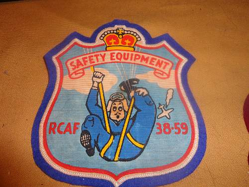A Large collection of RCAF Patches