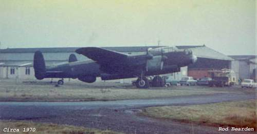 Lancaster 'Just Jane' Now & Then !