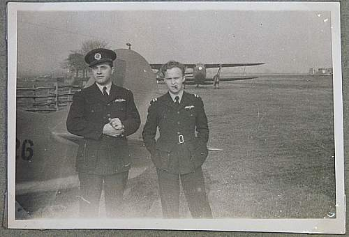 An American that flew with R.A.F Ferry Command.