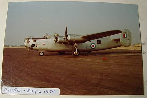 Click image for larger version.  Name:Liberator KN 751 Cairo July 6 1974 on its way to England..JPG Views:123 Size:238.0 KB ID:72313