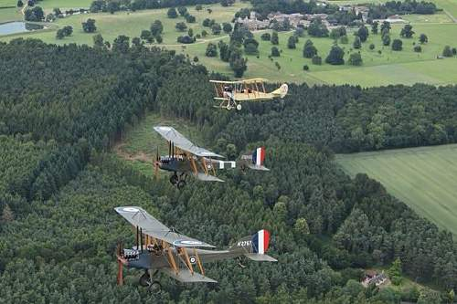 Ww1 trio to fly over dover to france on monday!!!!!!