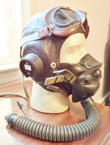 My RAF and AAF Flying Helmet Collection