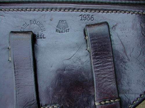 Click image for larger version.  Name:1936 dated holster.jpg Views:160 Size:251.1 KB ID:74014