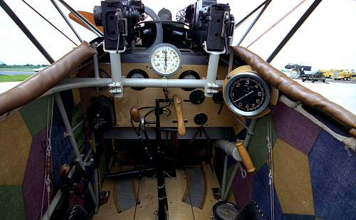WWI German Aircraft Cockpit Section - Downed In France