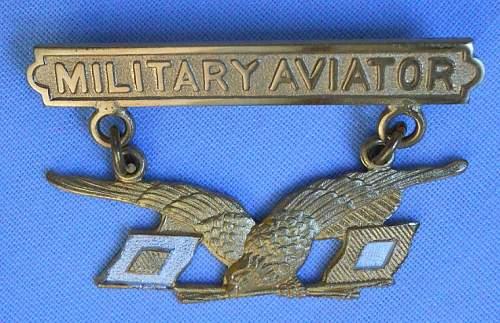 FAKE World War I Allied Forces Bullion & Metal Wings