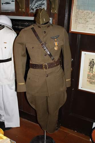 Lt. Allens WWI uniform
