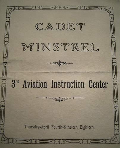 Click image for larger version.  Name:Cadet Minstrel1.JPG Views:30 Size:119.6 KB ID:81876