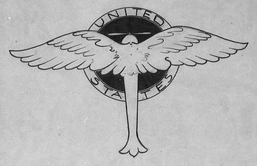 Prototype Insignia of WWI Period as Found in Gorrell's History