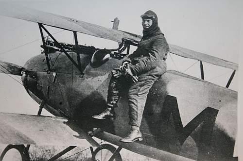 Seatbelt of Carl Menckhoff's Fokker D VII