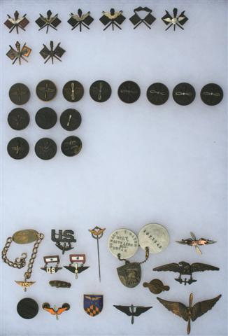 U.S. Air Service Collar Insignia Collection