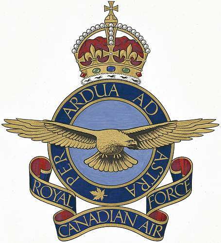 RCAF Wooden badge?
