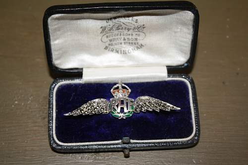 WWI Sweetheart Wings