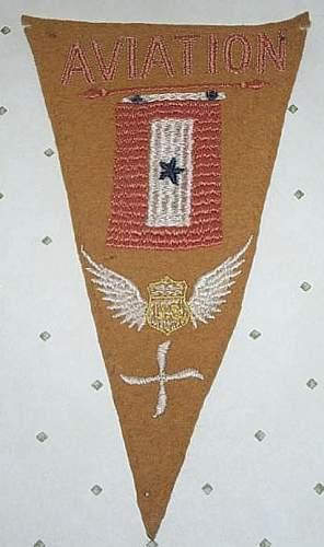 Ww 1 air service banner