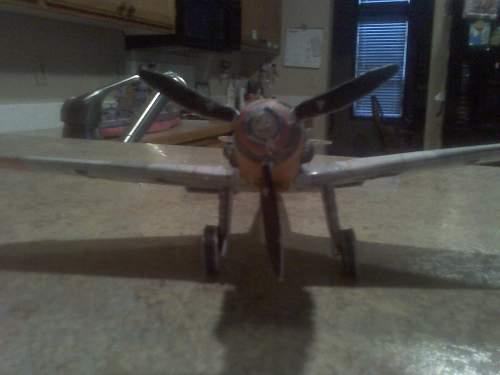 paper model of Messerschmitt BF-109