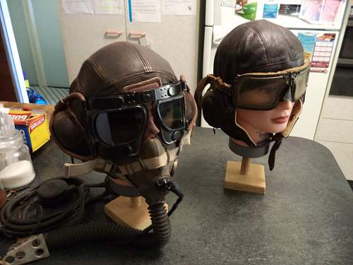 My Flying Helmet Collection