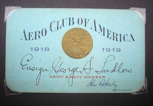 WW1  Naval Pilot Medal of Honor ACtion