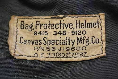 P-4A Helmet and MBU-3/P O2 mask