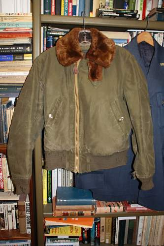 Capt. Spangles B-15 Flight Jacket
