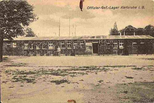 Click image for larger version.  Name:The Mess and Canteen at Karlsruhe POW Camp.jpg Views:210 Size:89.8 KB ID:90208