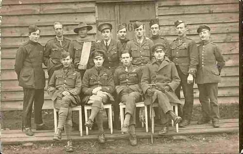 Click image for larger version.  Name:Fellow POWs at Karlsruhe 1918.jpg Views:116 Size:120.0 KB ID:90210