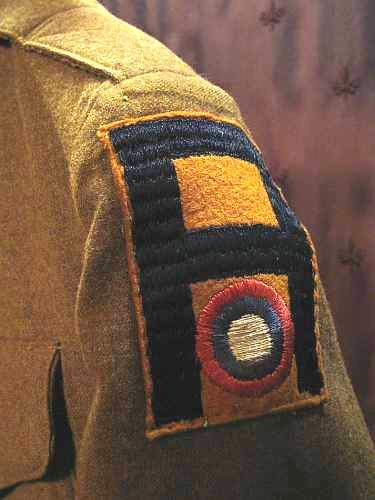 Samuel Rich, 1st. Army, 11th. Aero Sqdn. AEF, WWI