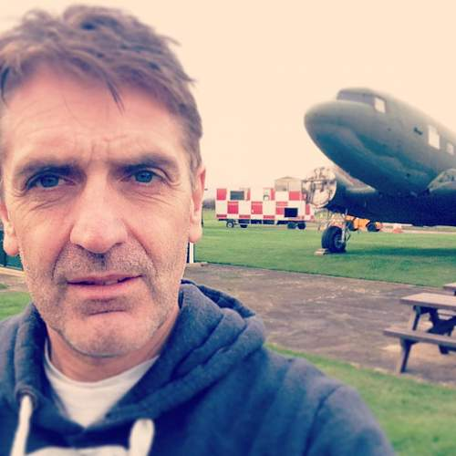 Dakota arrives at RAF Metheringham