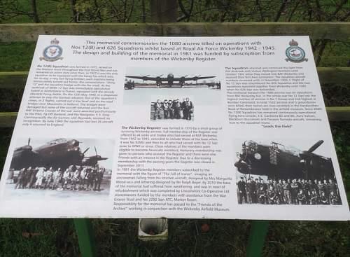RAF Wickenby WW2 bomber airfield