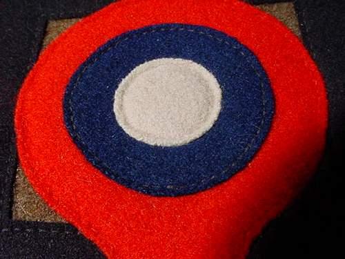 185th Pursuit Squadron Patch