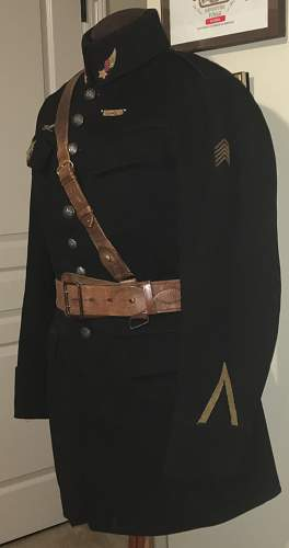 WW1 French Pilot Tunic and Hat