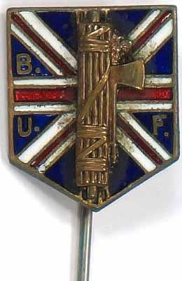 British Fascist Stickpin - Authentic?