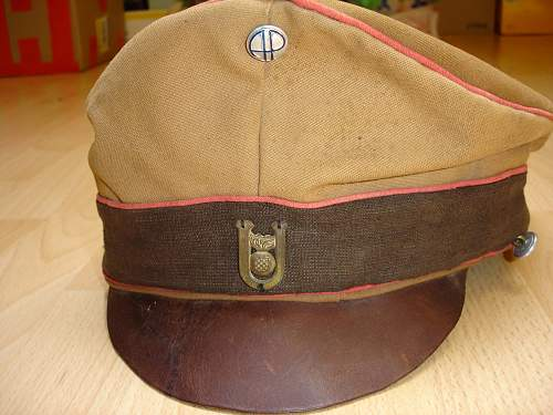 """You think of this hat """"Croatia""""?"""