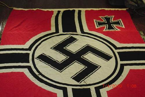 German War Flag and Banner