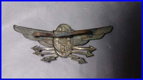 WW2 Axis Cap Insignia ?